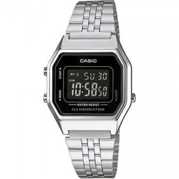 Relógio Unissex Casio  LA680 Prata