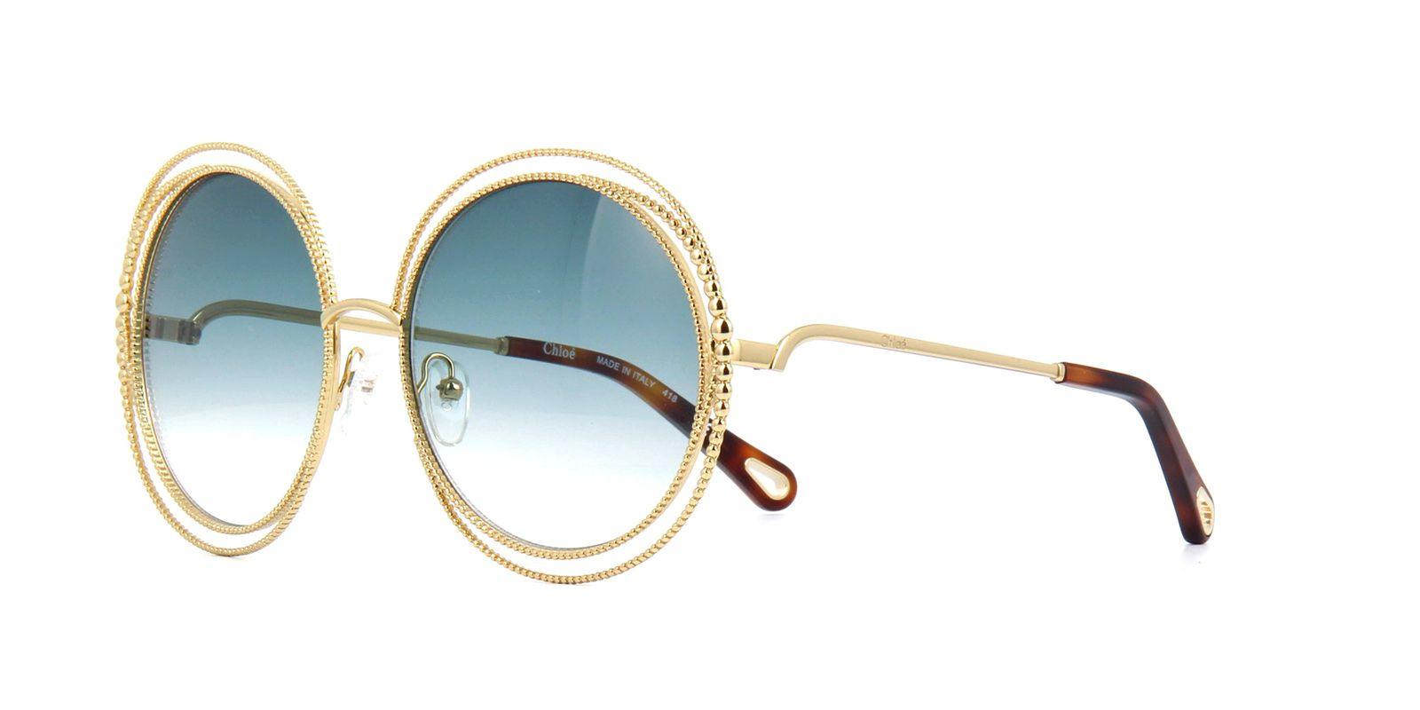 Óculos de Sol Feminino Chloé Carlina Twist CE 114SC