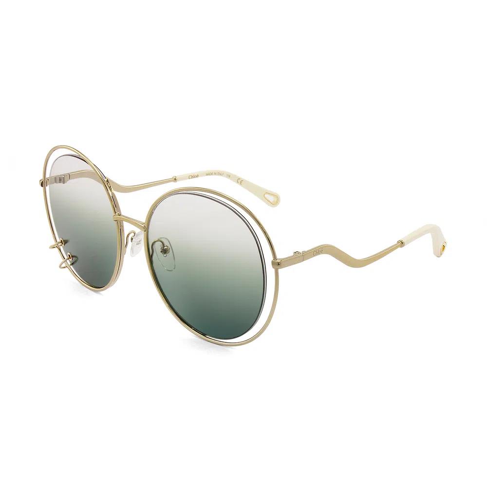 Óculos de Sol Feminino Chloé Wendy Verde CE 153S