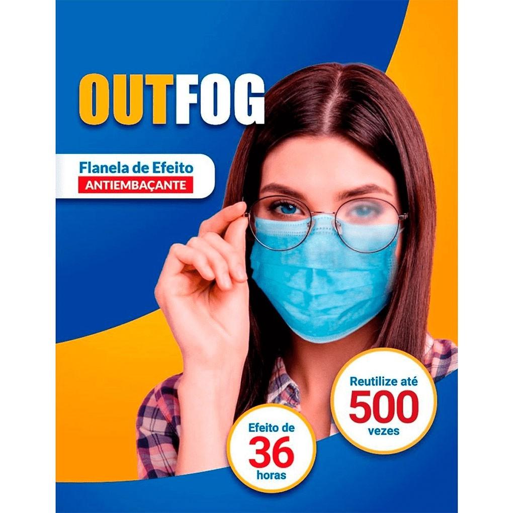 Flanela de Efeito Antiembaçante OutFog