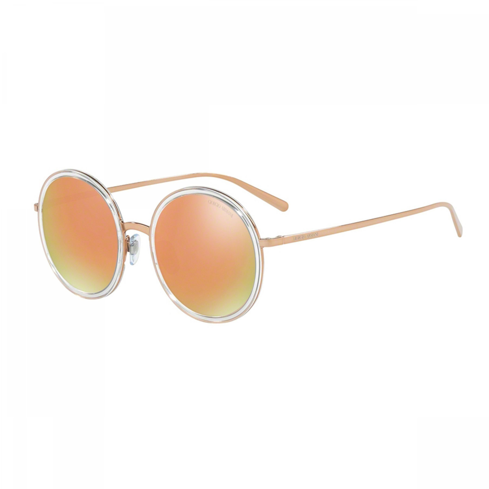 Óculos de Sol Feminino Giorgio Armani AR 6052 Rosê Gold