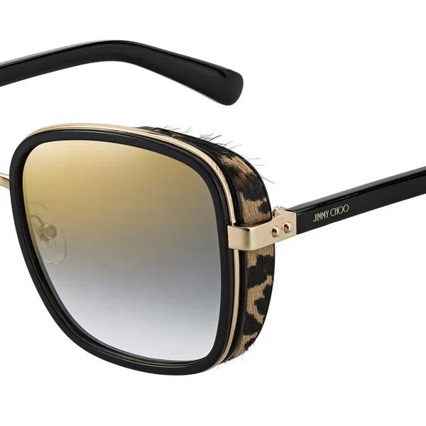 Óculos de Sol Feminino Jimmy Choo Elva Leopardo
