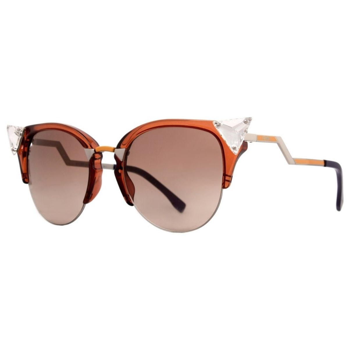 Óculos de Sol Feminino Fendi Palladium FF 0041/S