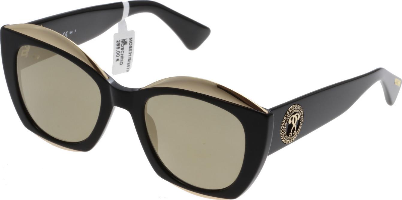 Óculos de Sol Moschino MOS031 Espelhado Dourado