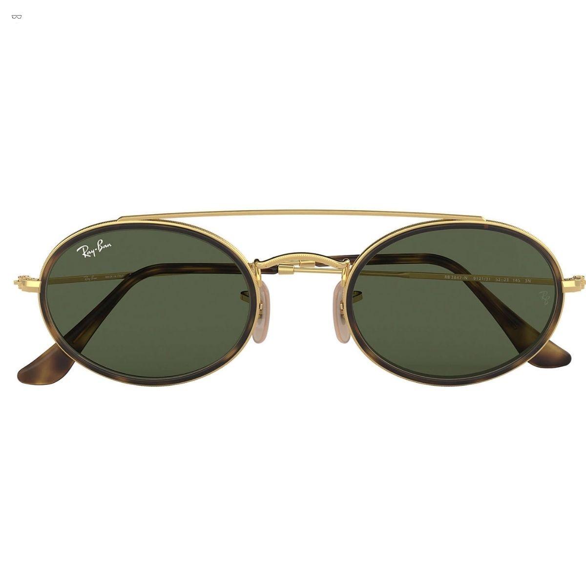 Óculos de Sol Ray-Ban Oval Double Bridge