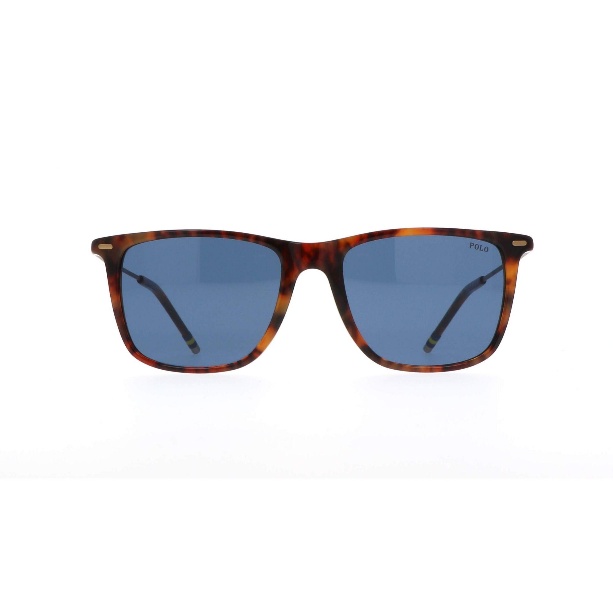 Óculos de Sol Masculino Polo PH4163 Havana