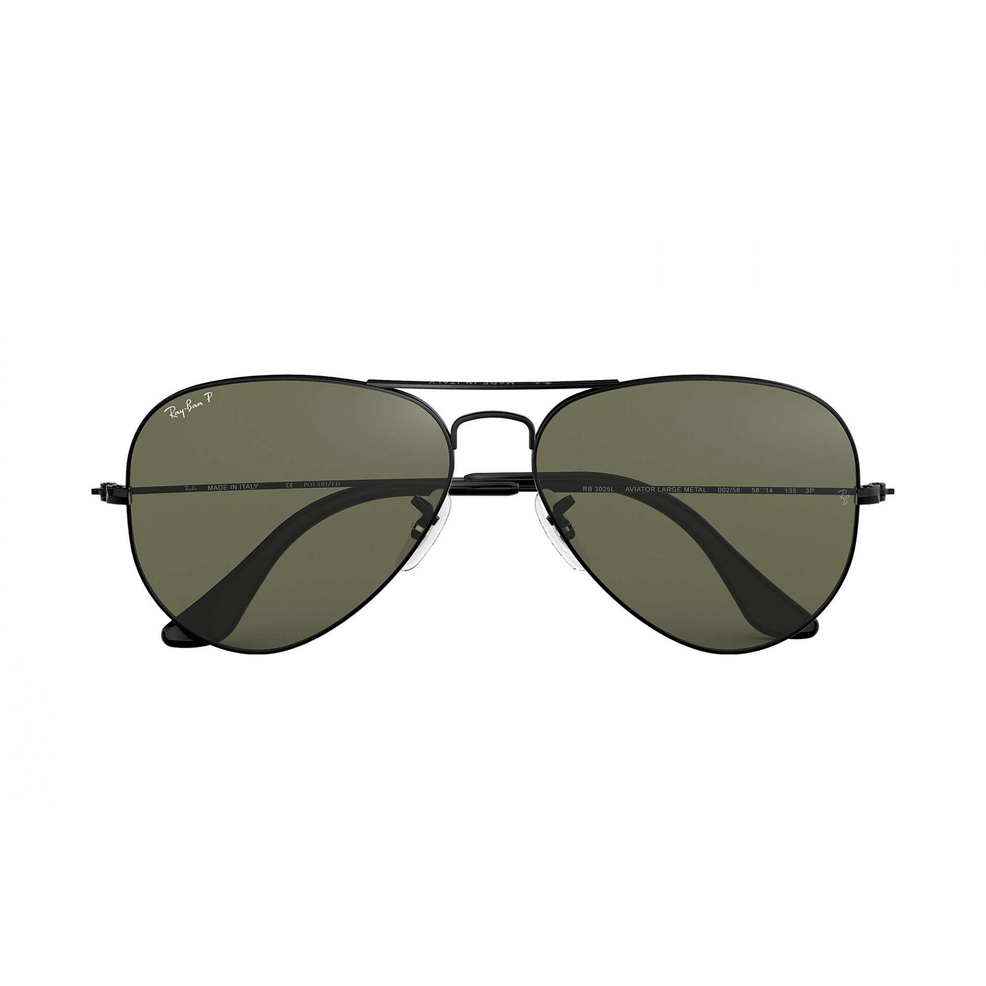 Óculos de Sol Ray-Ban Aviador Preto