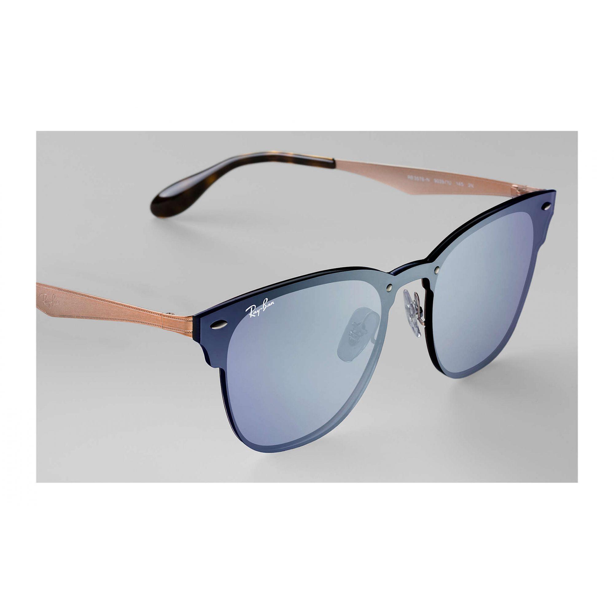 Óculos de Sol Unissex Ray-Ban Blaze ClubMaster Azul