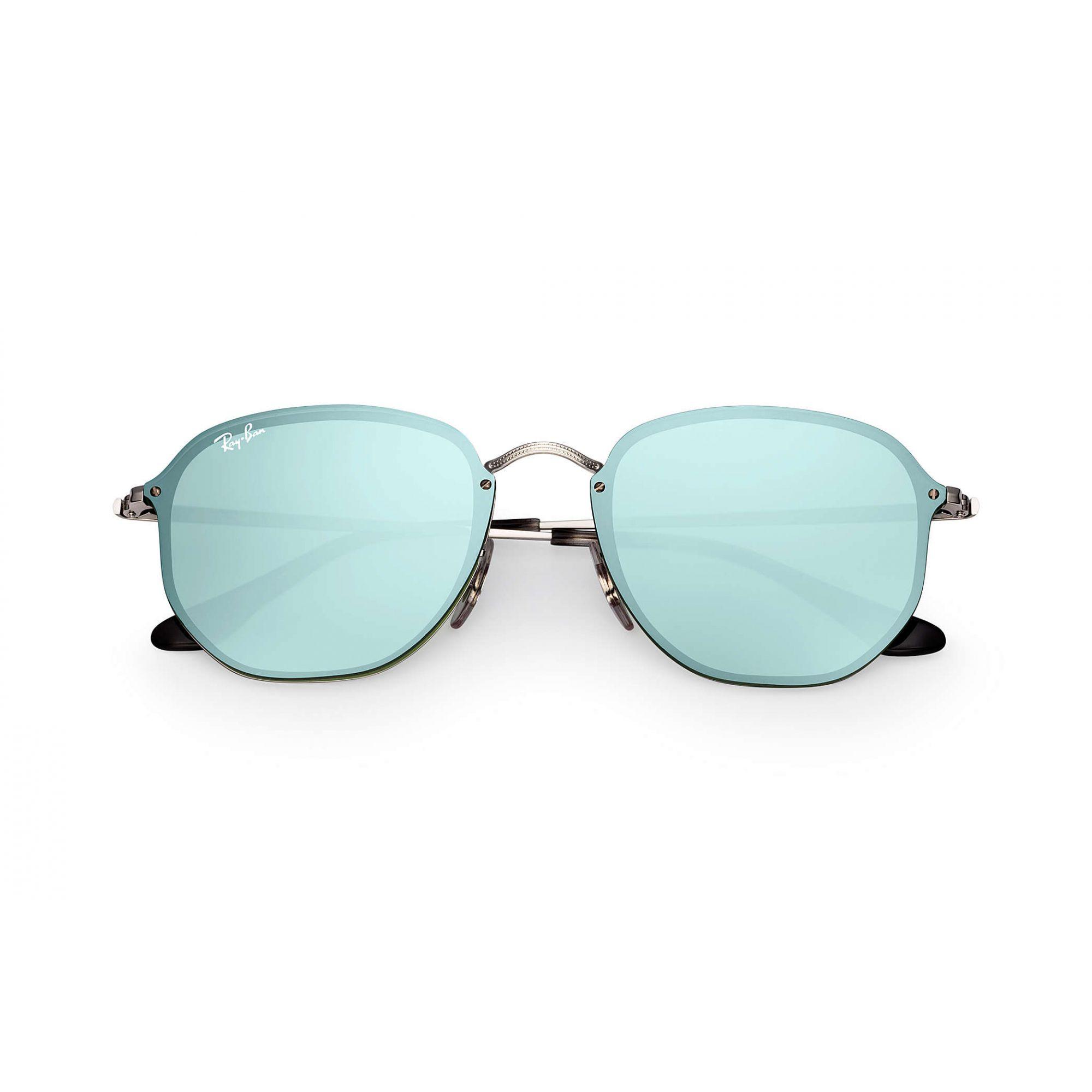 Óculos de Sol Unissex Ray-Ban Blaze Hexagonal Verde