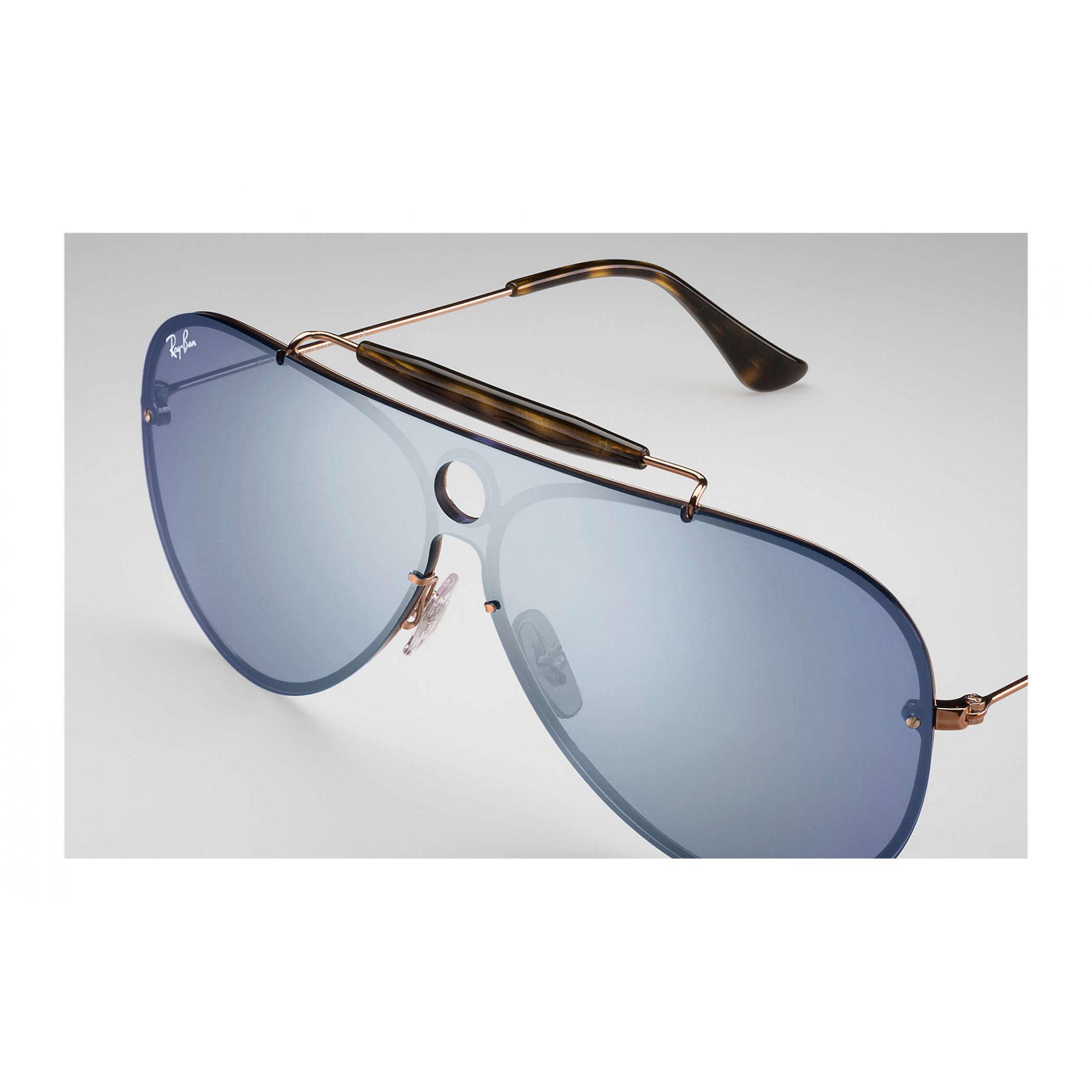 Óculos de Sol Unissex Ray-Ban Blaze Shooter  Violeta