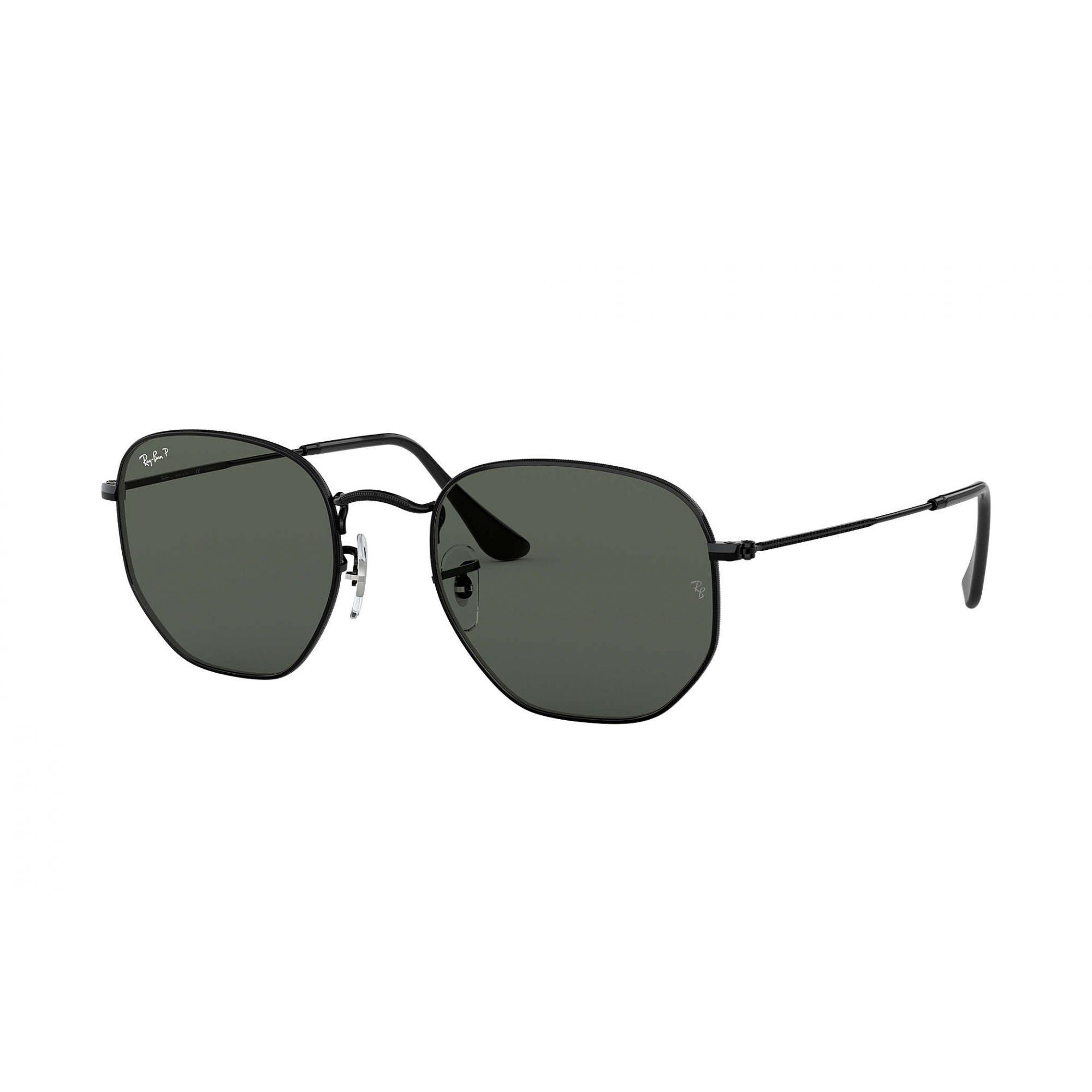 Óculos de Sol Ray-Ban Hexagonal Preto