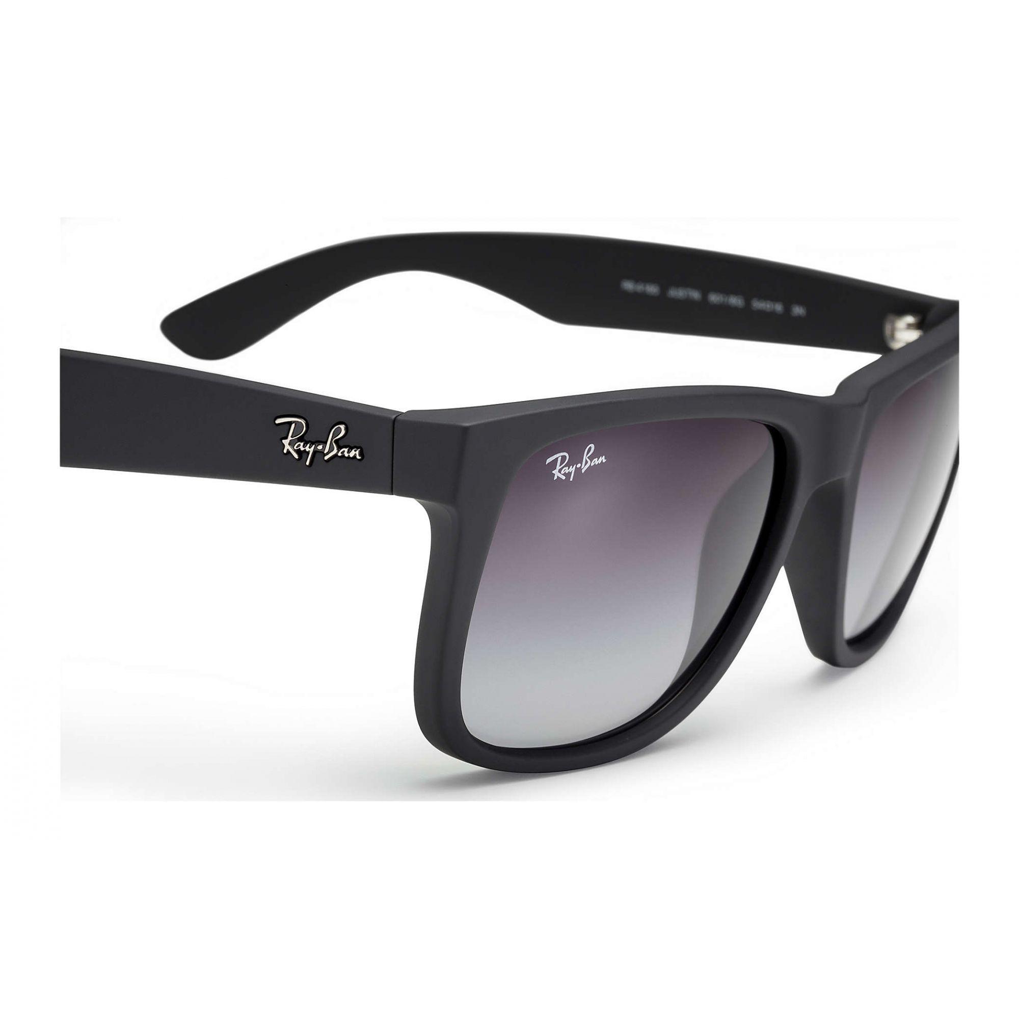 Óculos de Sol Masculino Ray-Ban Justin Preto