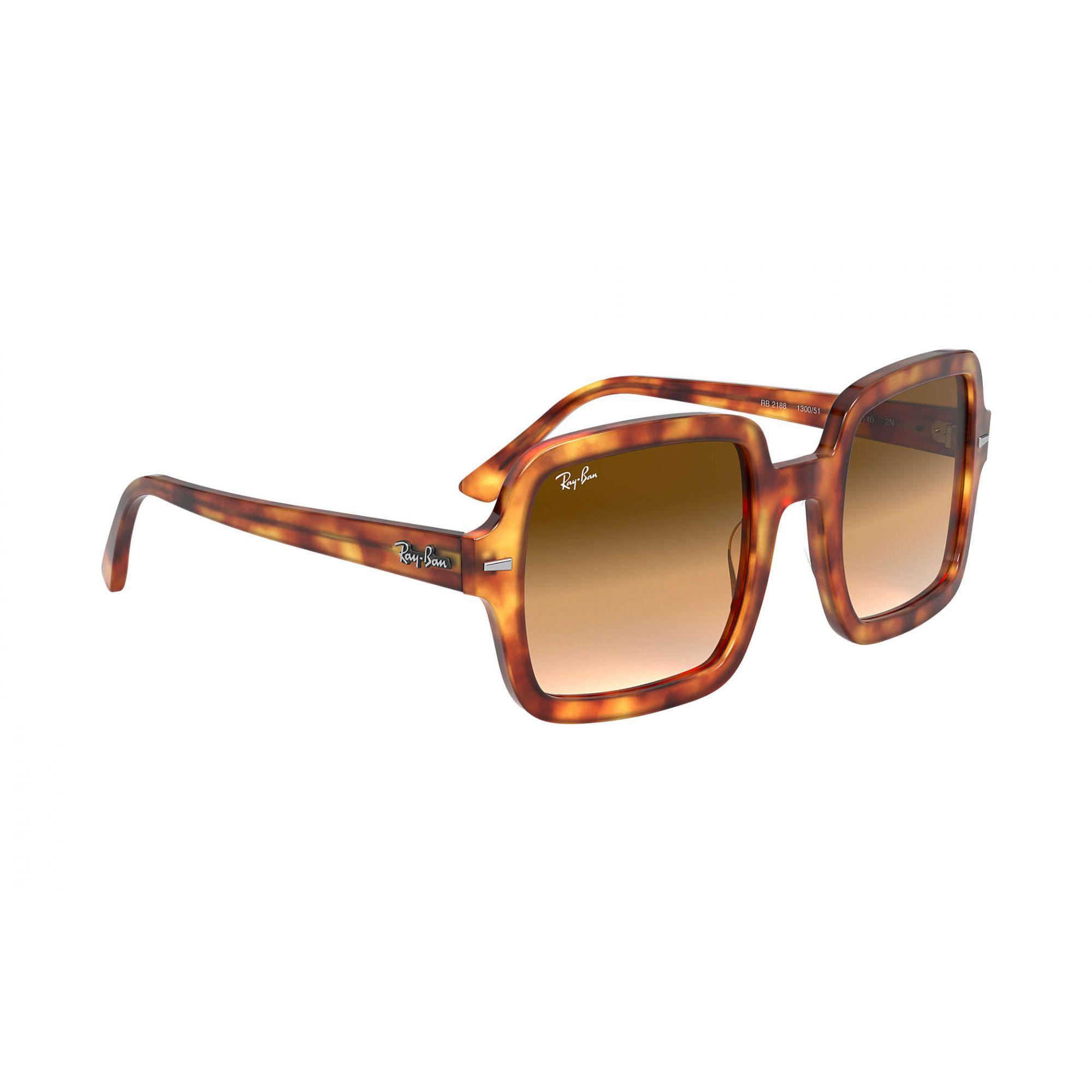 Óculos de Sol Feminino Ray-Ban RB2188 Tartaruga Claro