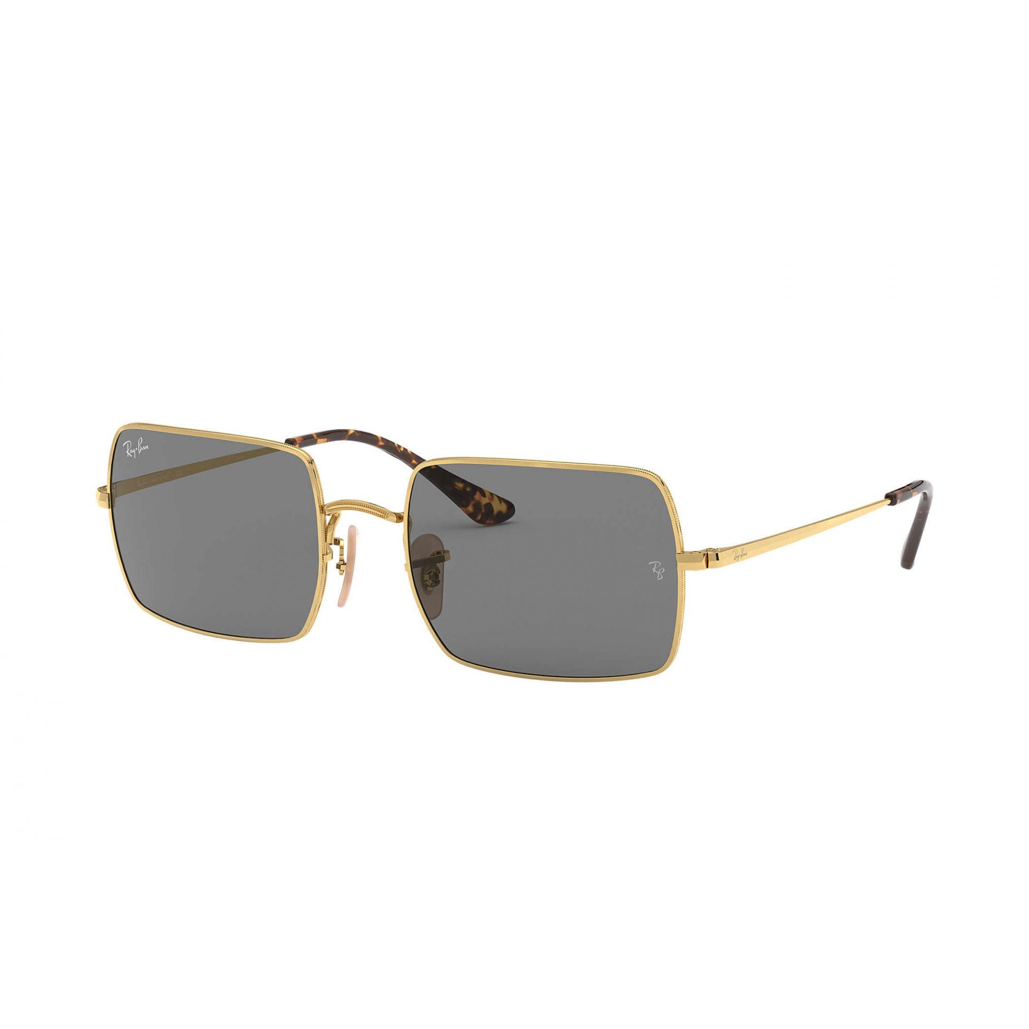 Óculos de Sol Ray-Ban Rectangle Dourado