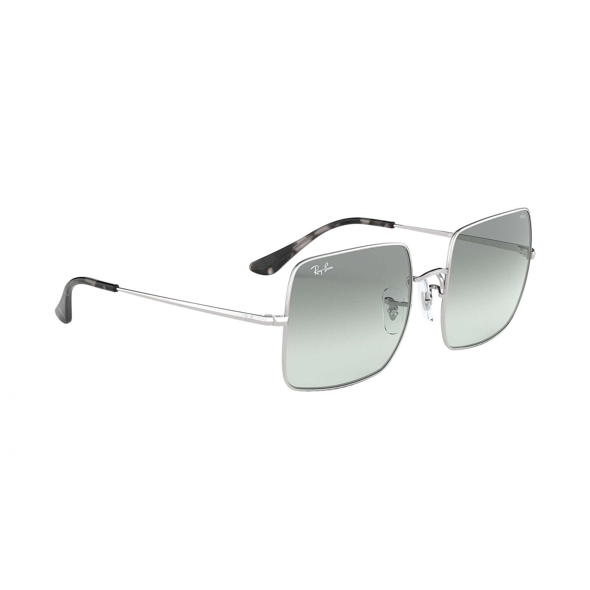 Óculos de Sol Unissex Ray-Ban Square Prata Evolve