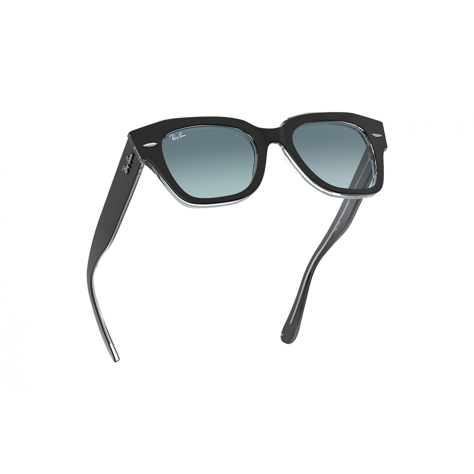 Óculos de Sol Feminino Ray-Ban State Street Preto