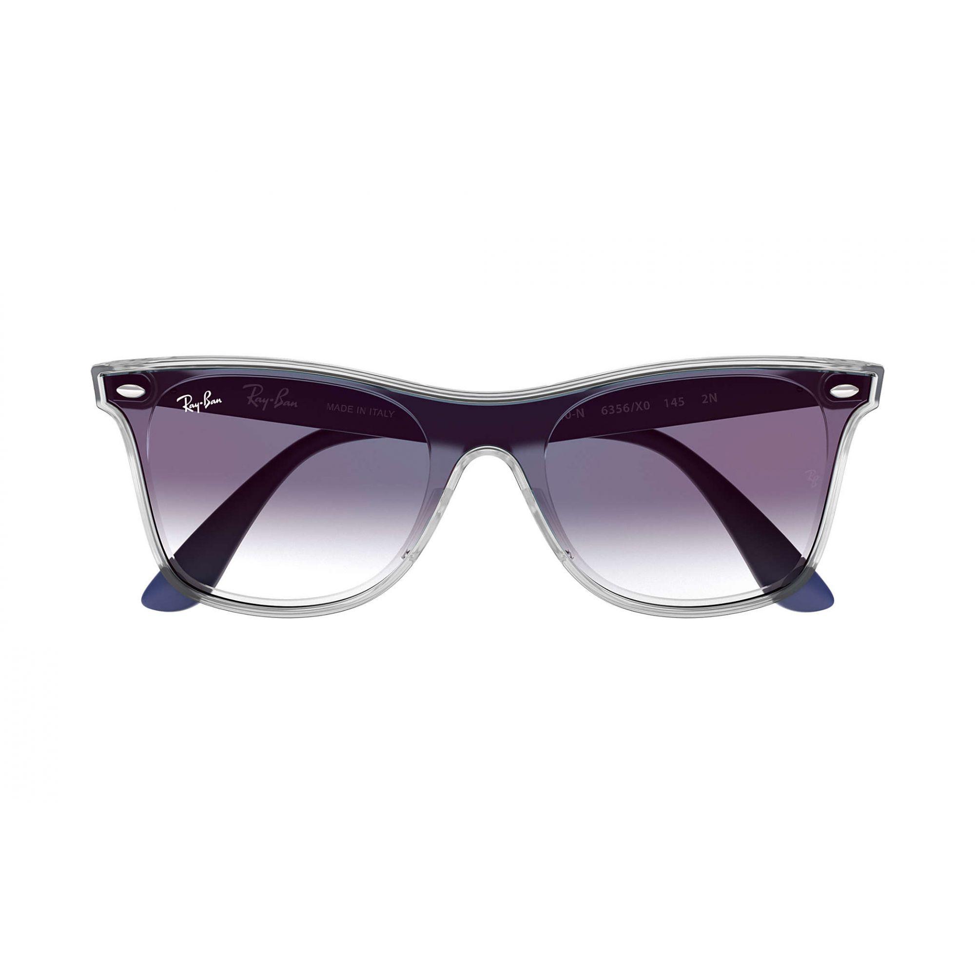 Óculos de Sol Unissex Ray-Ban Blaze Wayfarer Azul