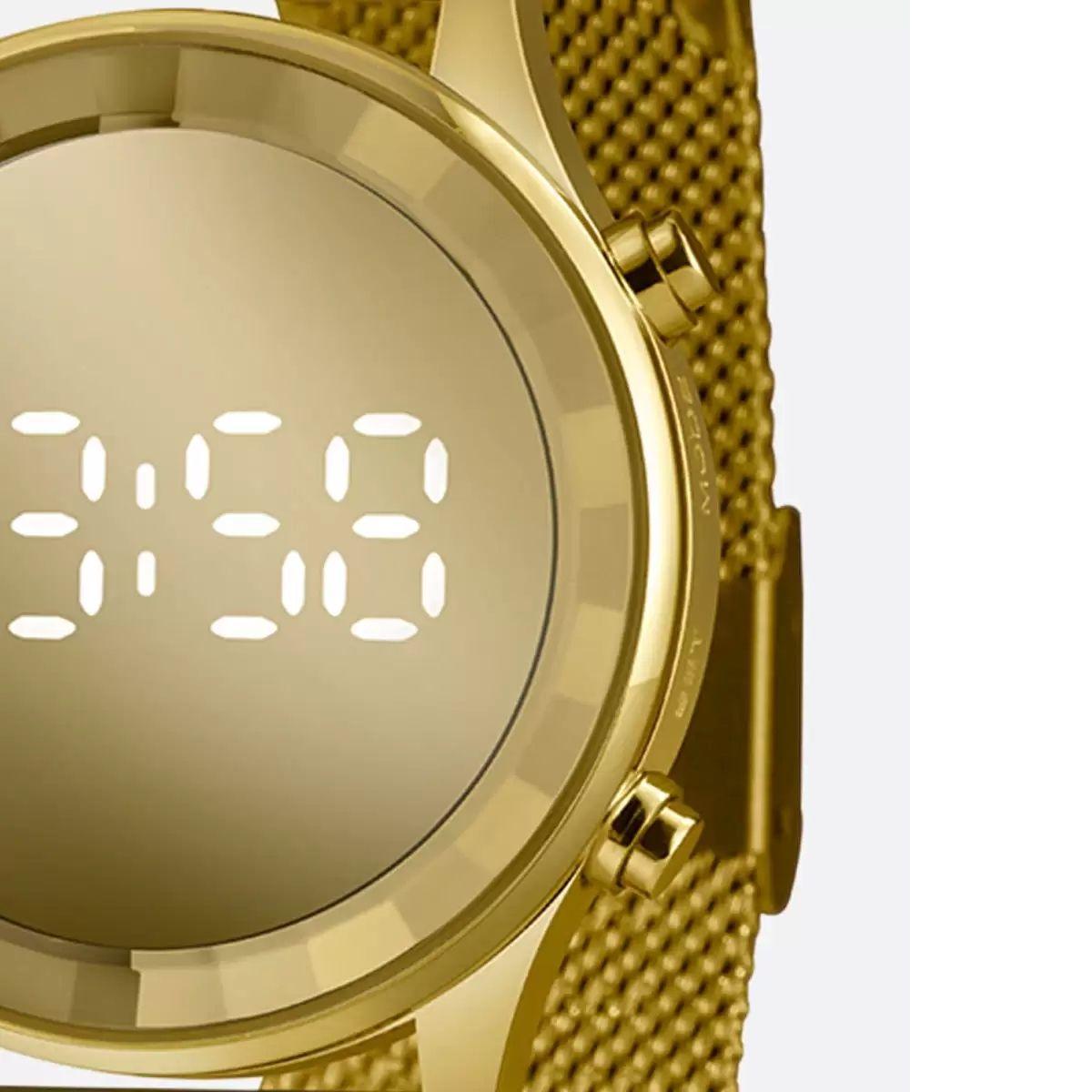 Relógio Feminino Lince Dourado LDG 4648L