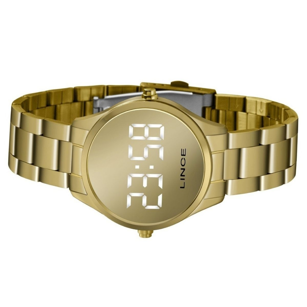 Relógio Feminino Lince Dourado MDG4617L