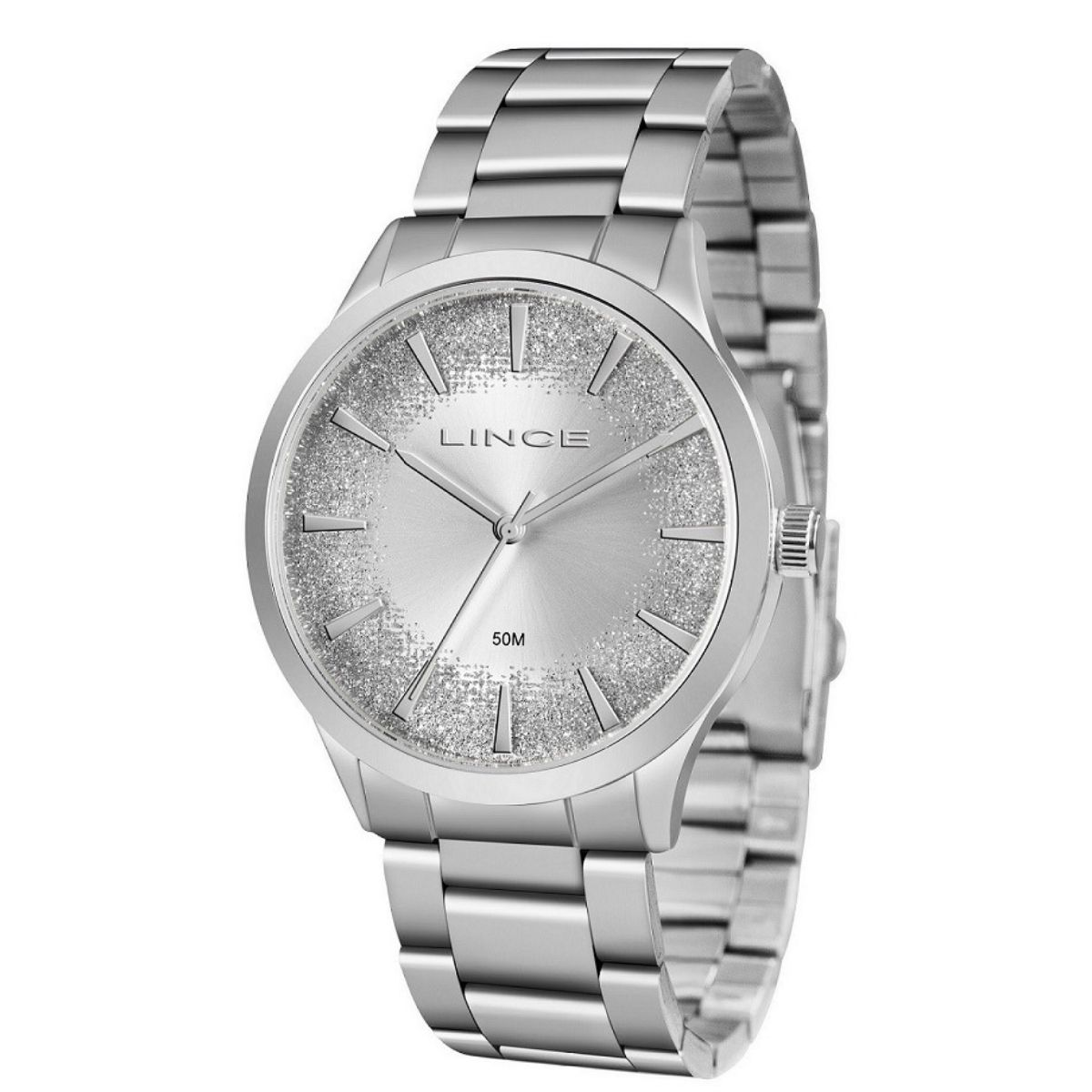 Relógio Feminino Lince Prata  LRM4593L