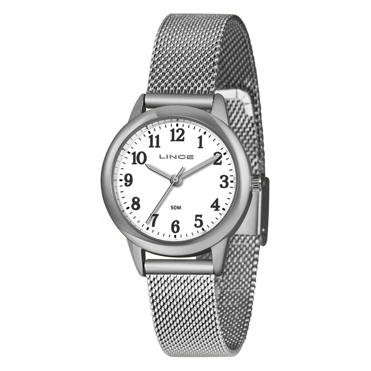 Relógio Feminino Lince  Prata LRM4653L