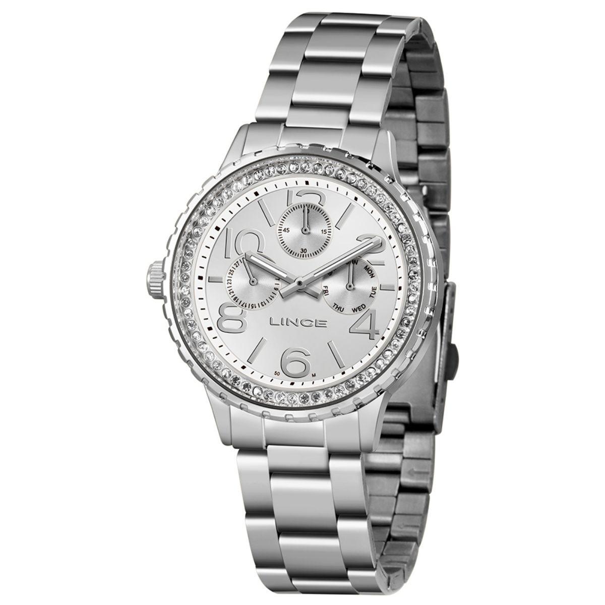 Relógio Feminino Lince Prata  LMM4624L