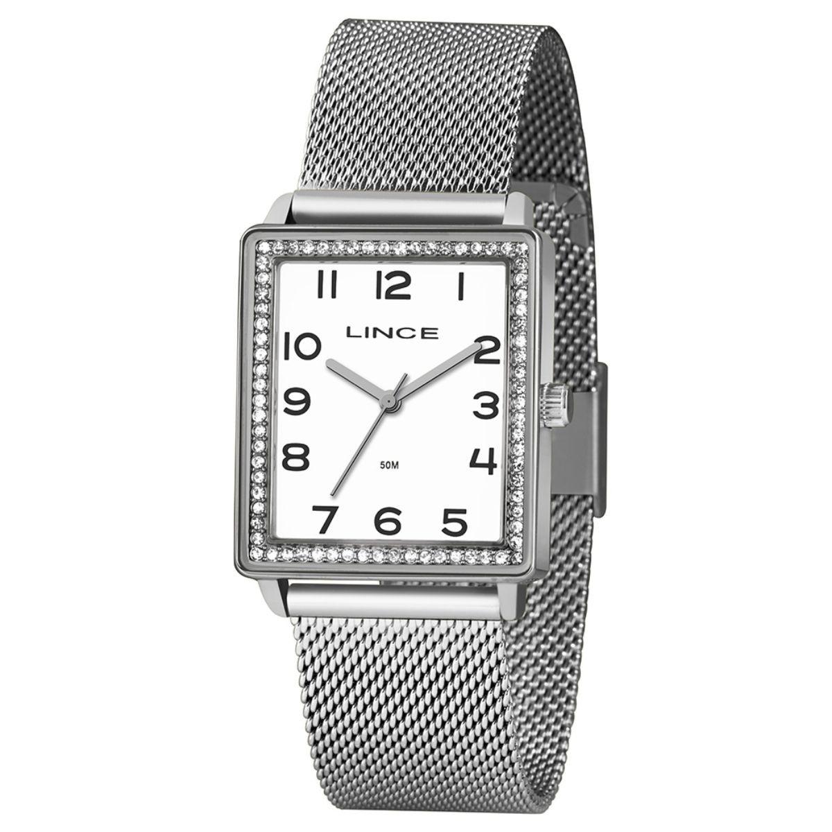 Relógio Feminino Lince Prata LQM4665L