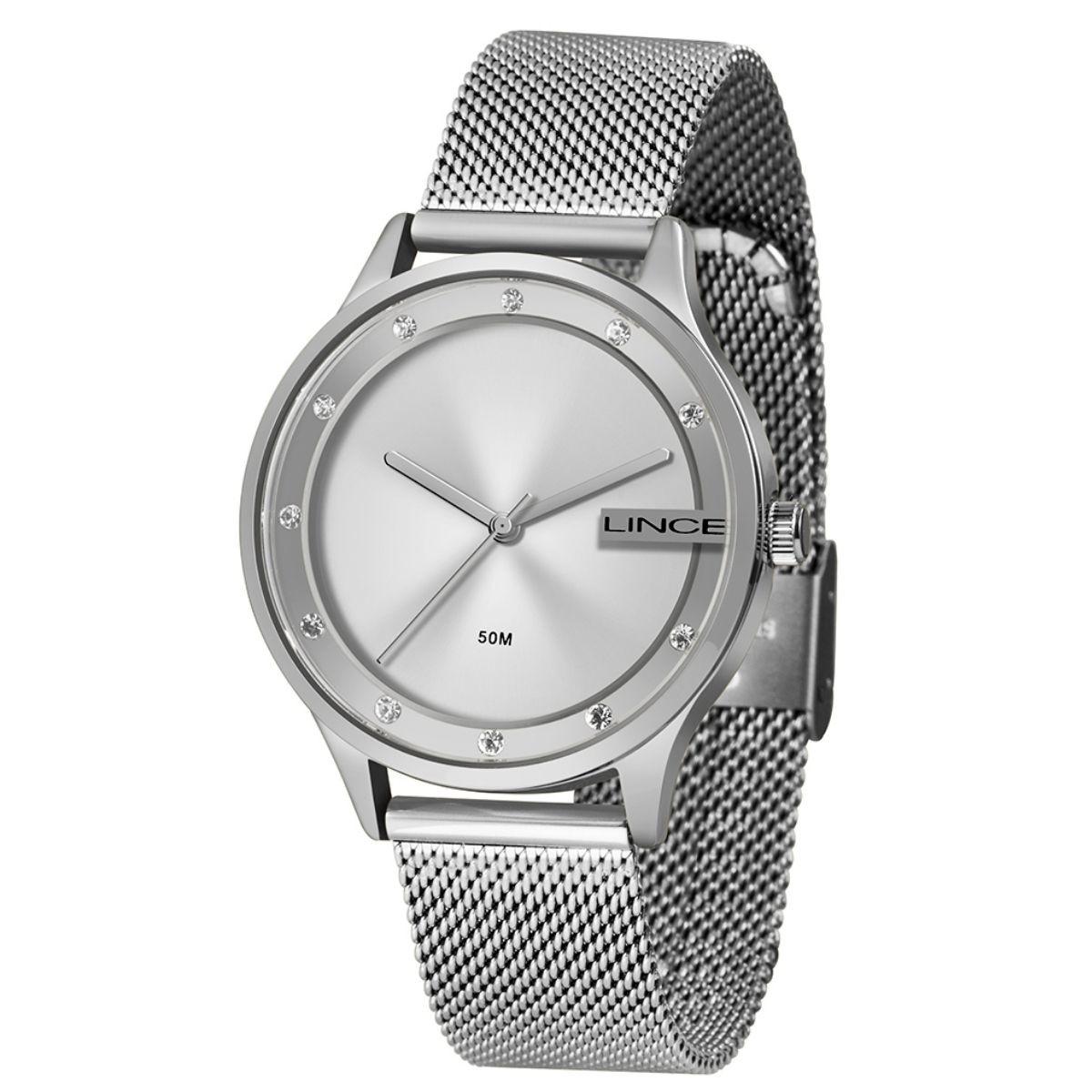 Relógio Feminino Lince Prata LRM4623L