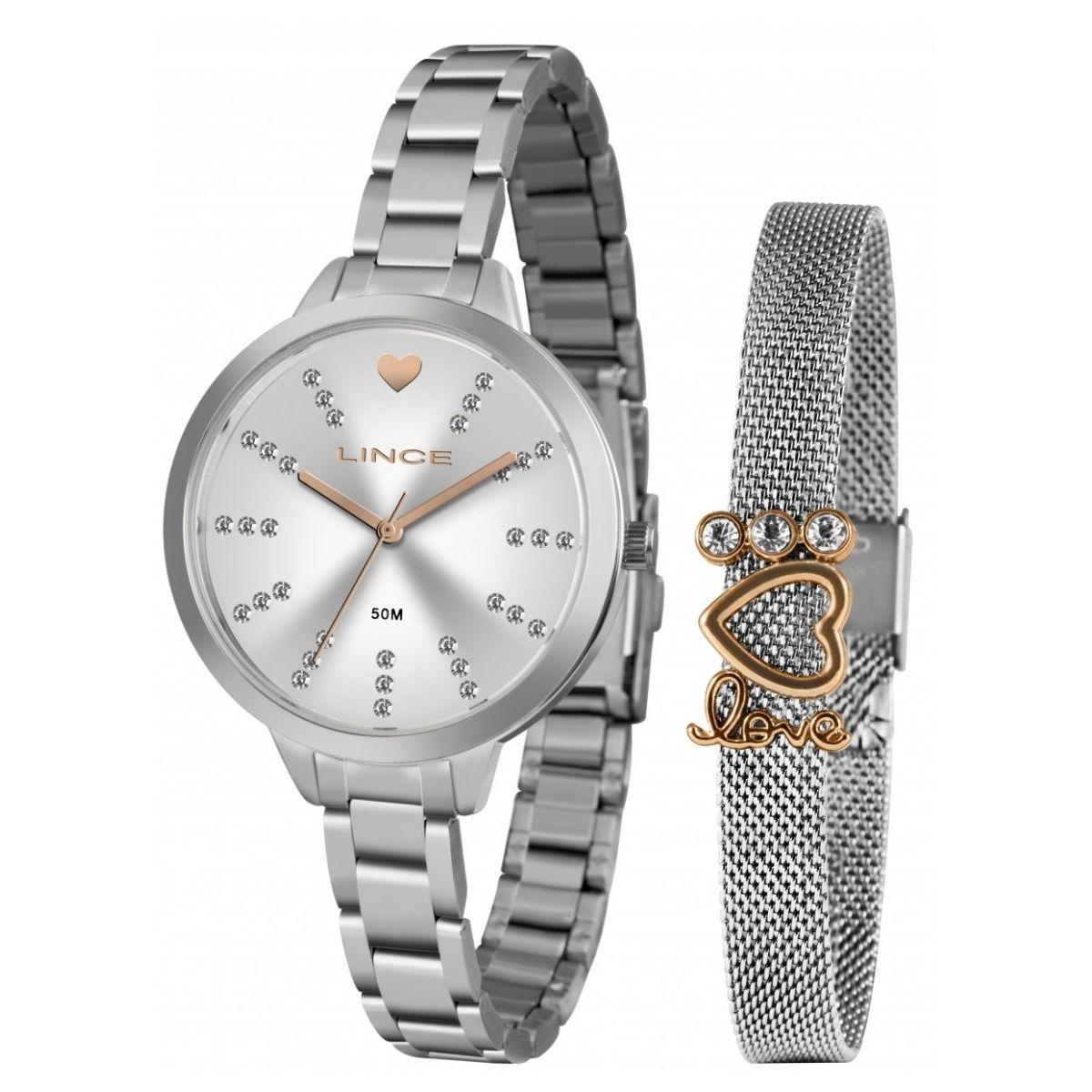 Relógio Feminino Lince  Prata LRM4667L