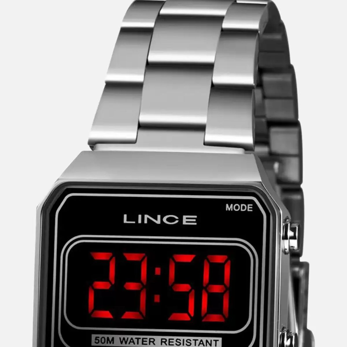 Relógio Feminino Lince Prata MDM 4645L