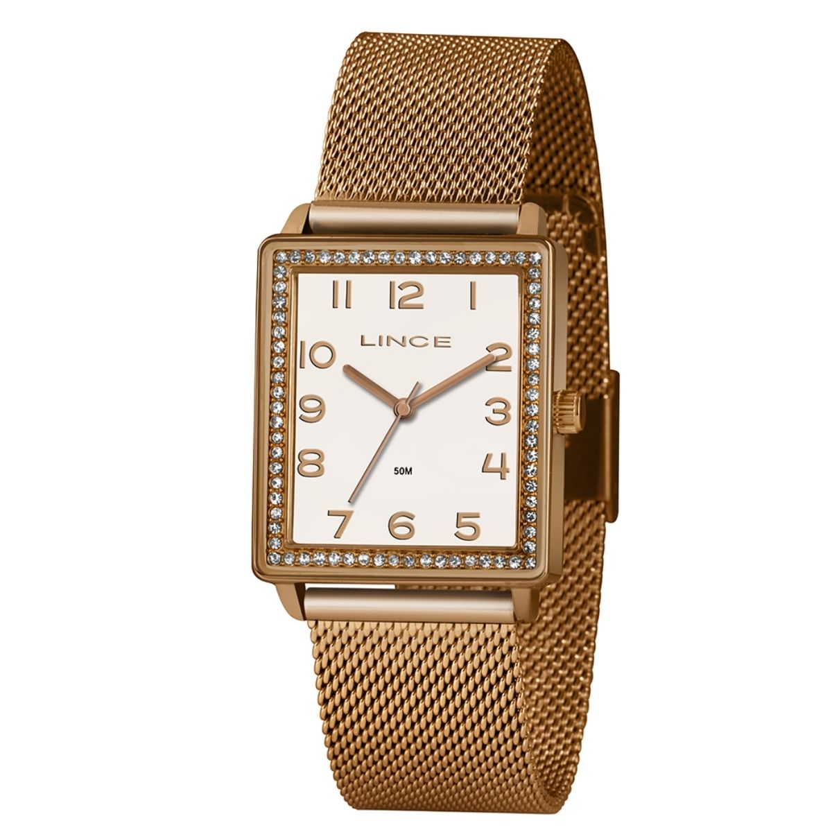 Relógio Feminino Lince Rosê LQR4665L