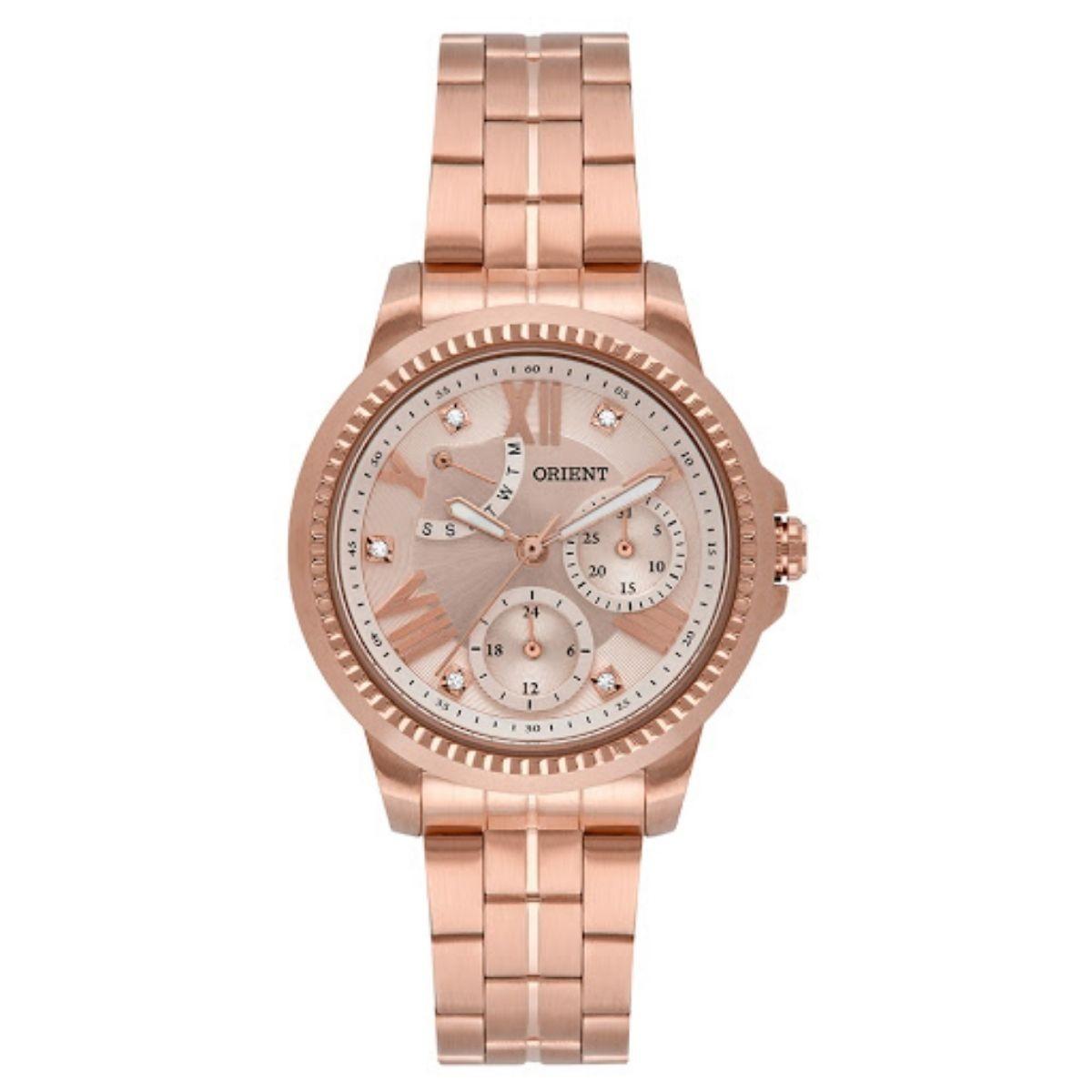Relógio Feminino Orient Rosê