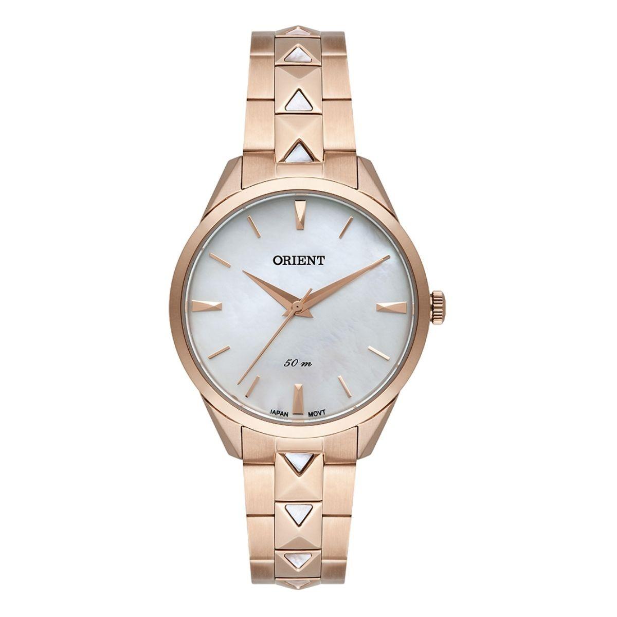 Relógio Feminino Orient Rose/Madre Pérola