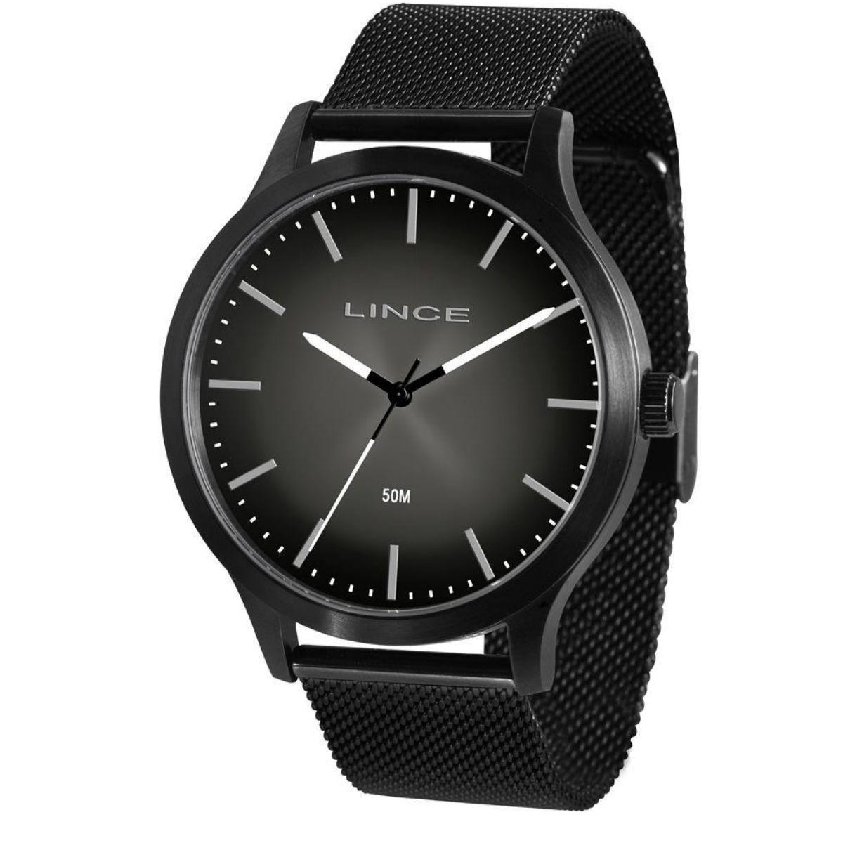 Relógio Masculino Lince Preto MRN4602L