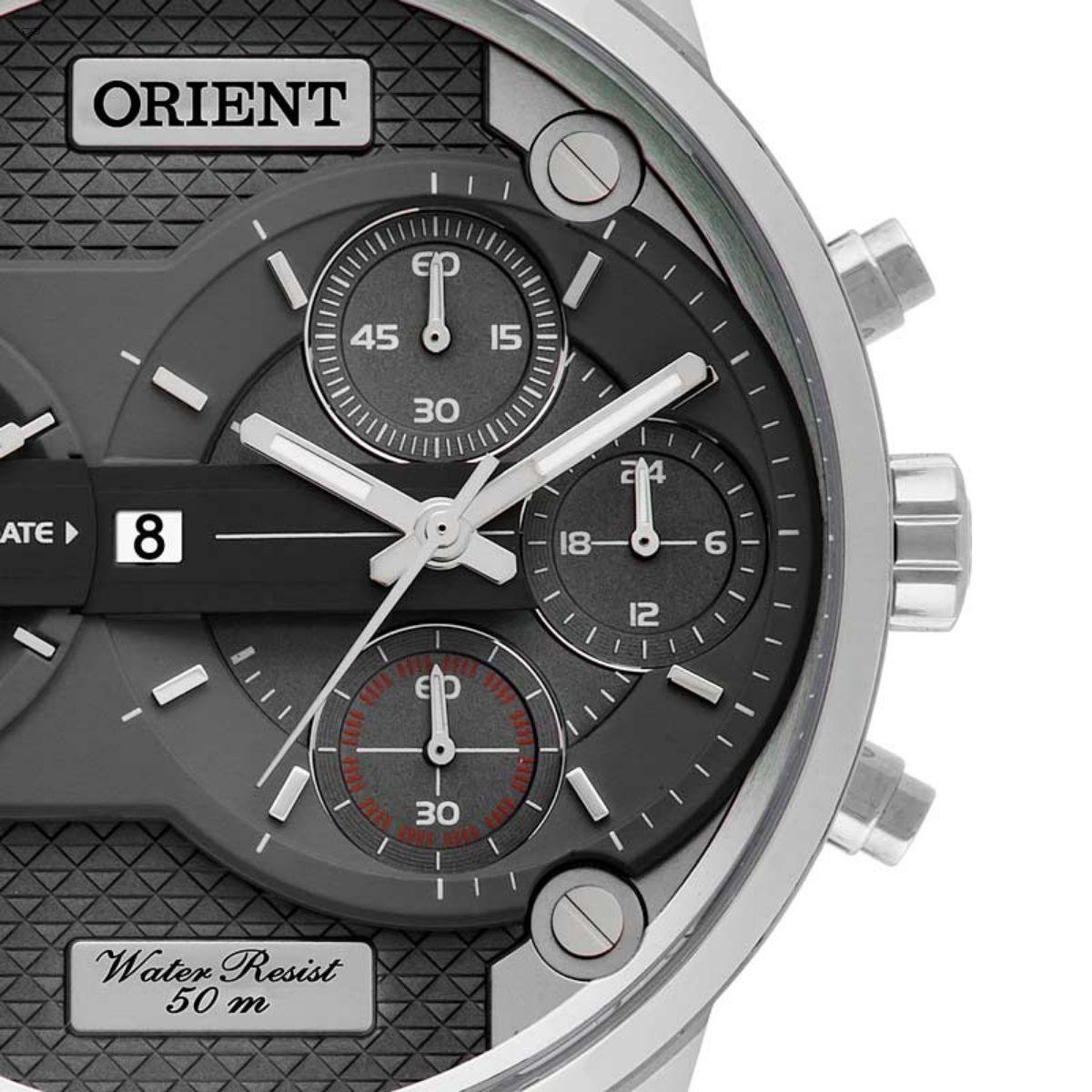 Relógio Masculino Orient MYSCT Couro