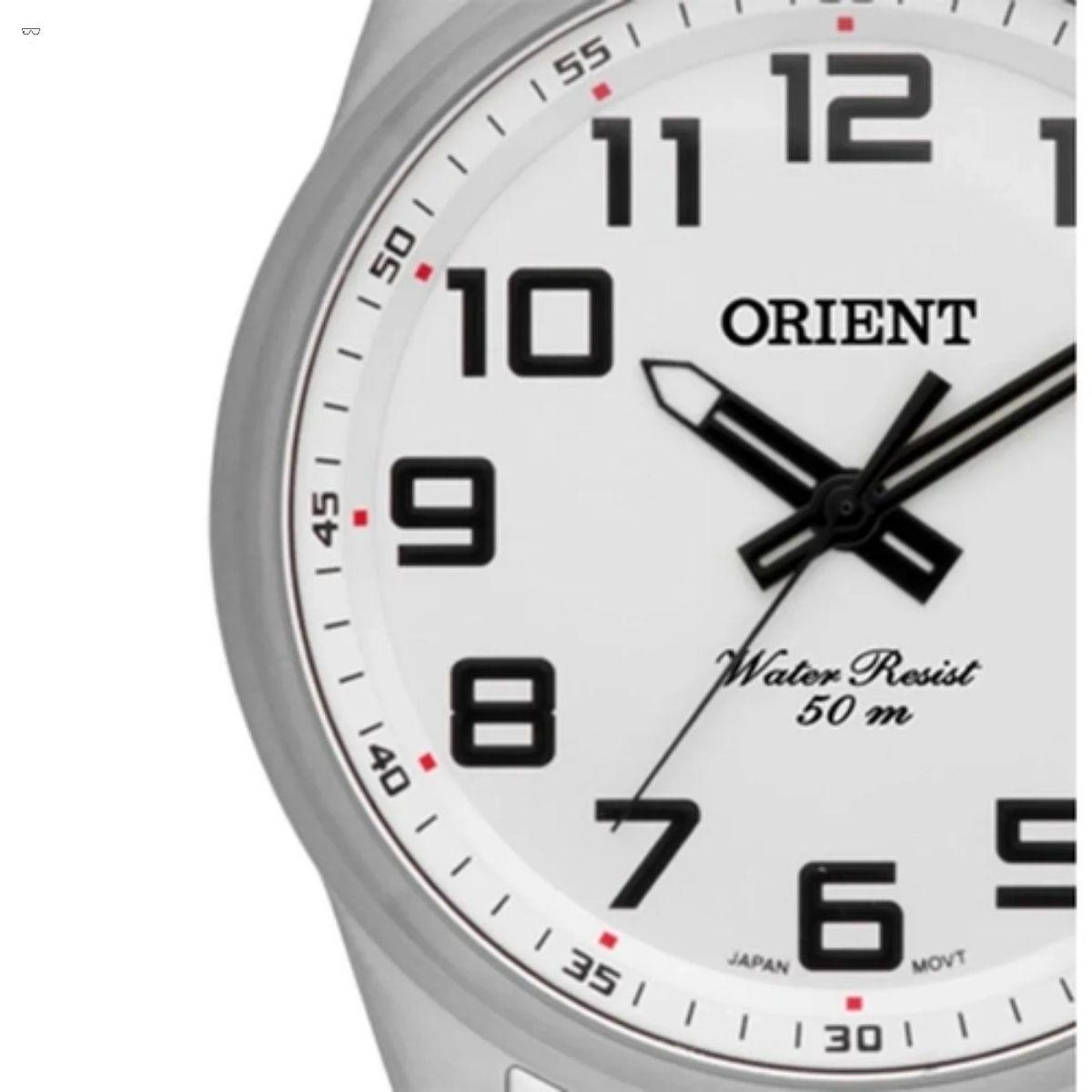 Relógio Masculino Orient Prata