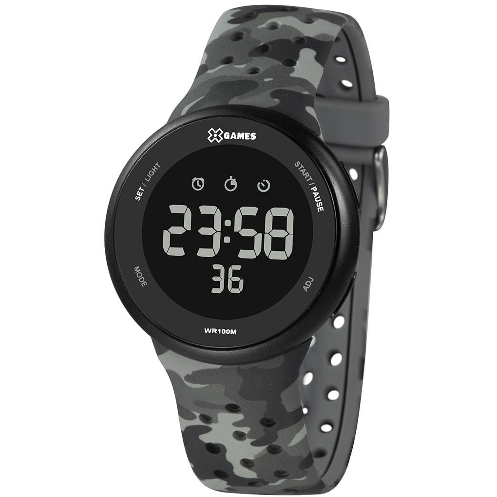 Relógio Masculino  X-Games XMPPD584 Camuflado Cinza