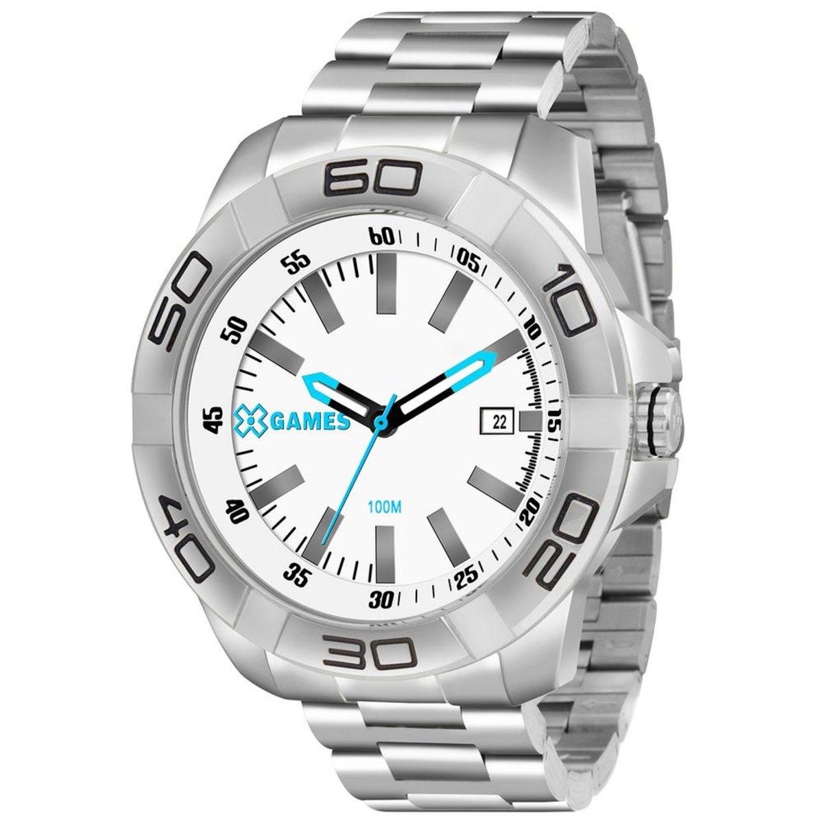 Relógio Masculino  X-Games XMSS1038 Prata