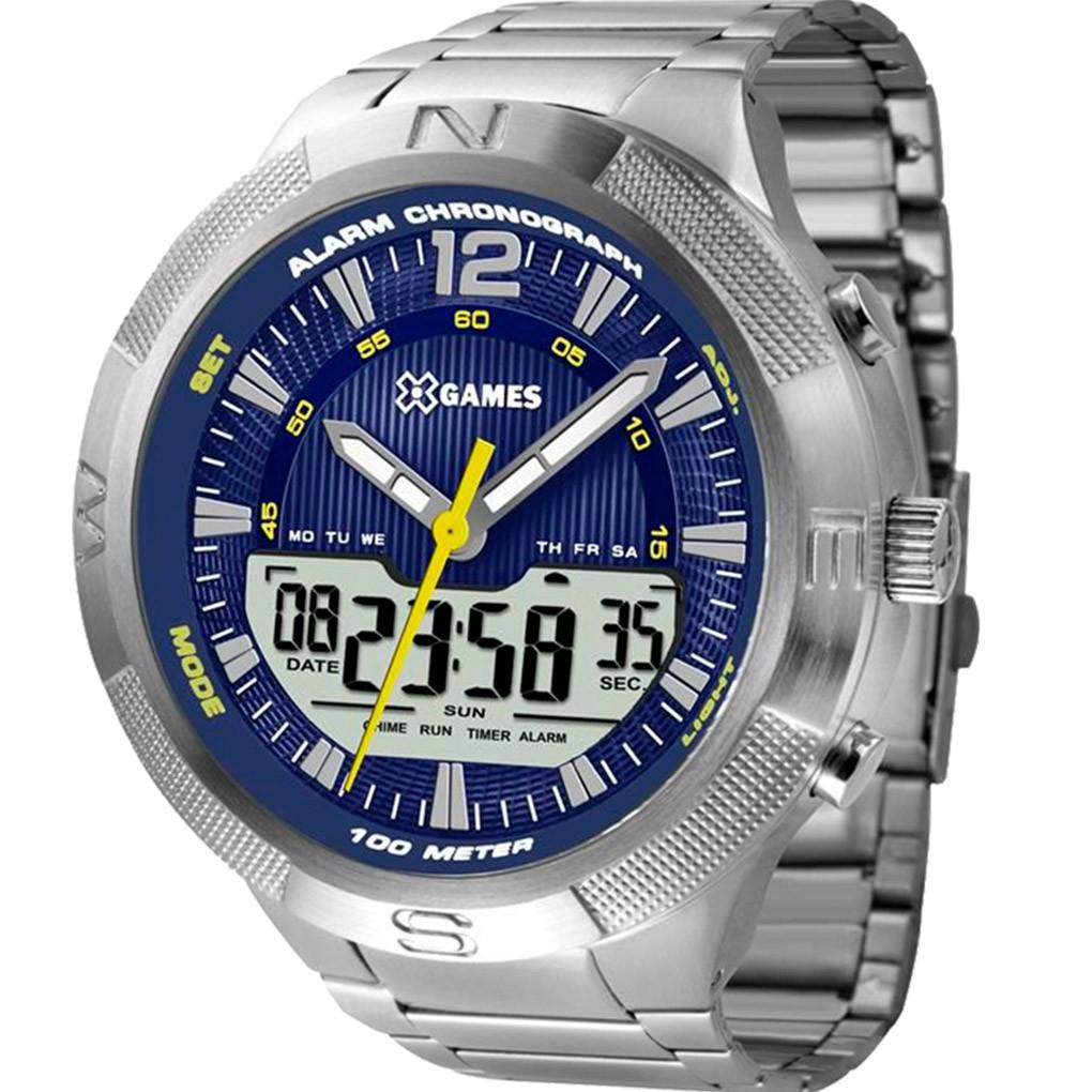 Relógio Masculino  X-Games XMSSA007 Prata