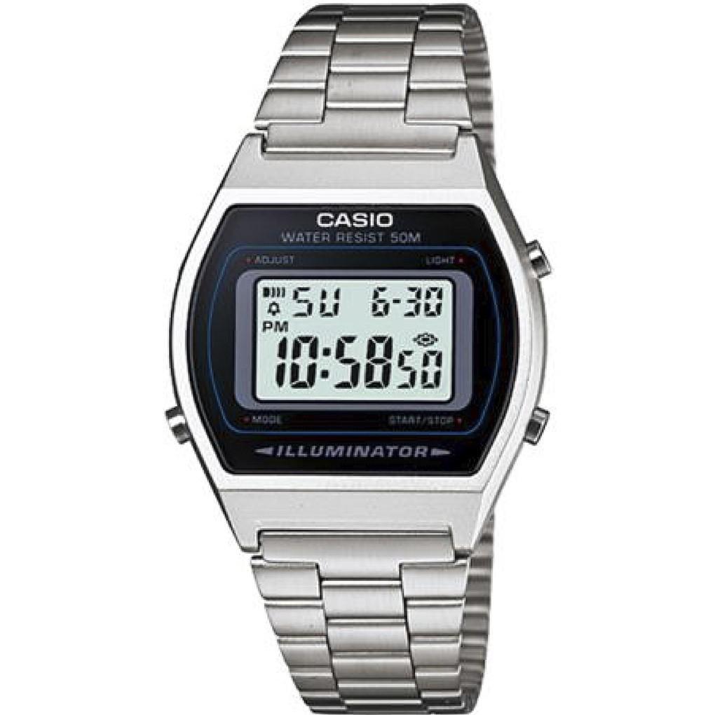 Relógio Unissex Casio B640 Prata