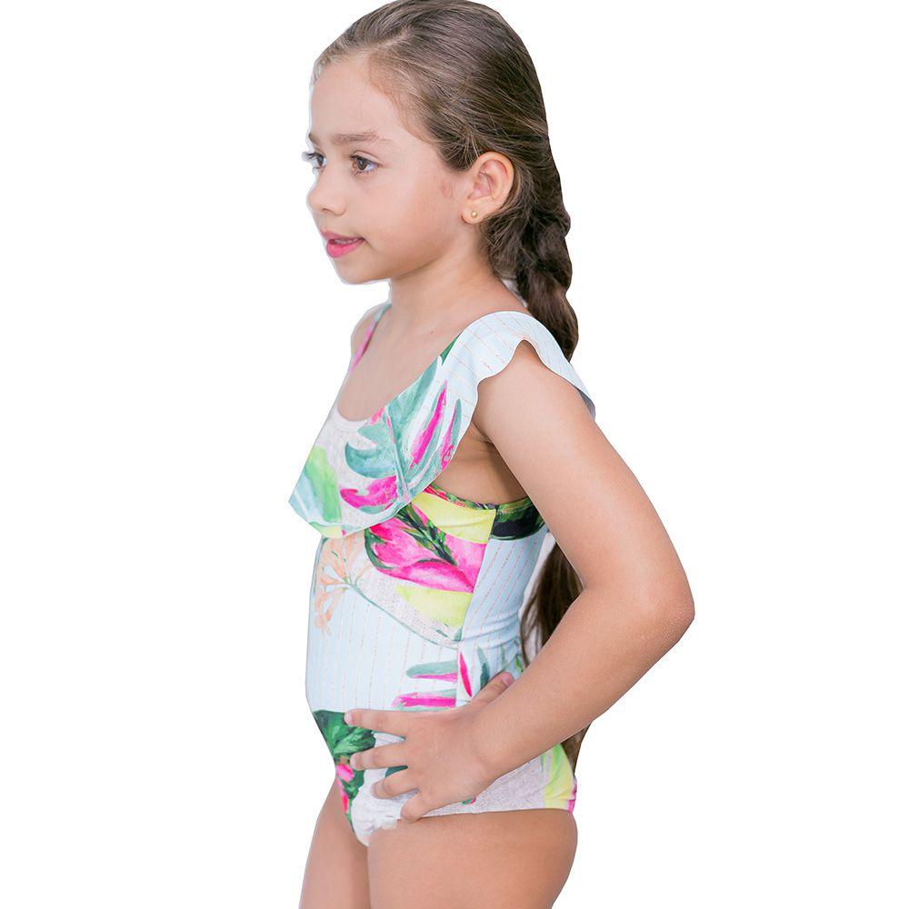 Maiô Infantil Ombro Alto Verão