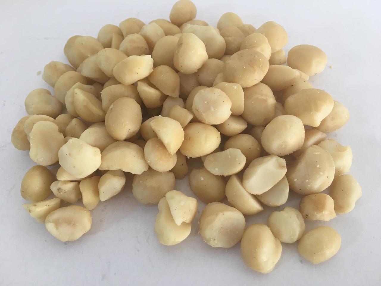 Nozes Macadâmia Torrada Salgada - 500gr à 5kg