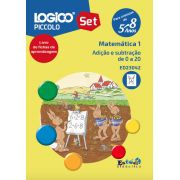 ED23042 Adição e subtração de 0 a 20 para LOGICO PICCOLO