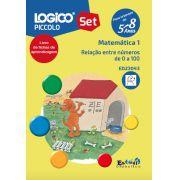 ED23043 Livro Relação entre os números de 0 a 100 para LOGICO PICCOLO