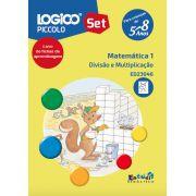 ED23046 Livro Divisão e multiplicação para LOGICO PICCOLO