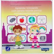 PL02 Livro Aprender Brincando Conhecimentos Gerais para uso com Pentop