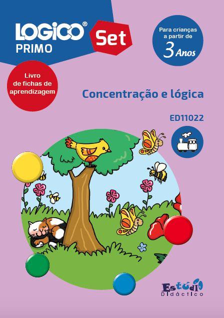 ED11020 Coleção Desenvolvimento do Raciocínio Primo SET I