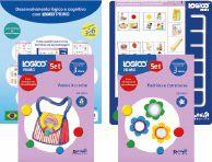 ED11011Q Kit com 2 livros e 1 quadro LOGICO PRIMO