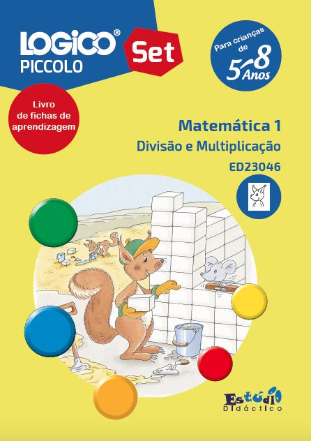 ED23040 Coleção Matemática I para LOGICO PICCOLO