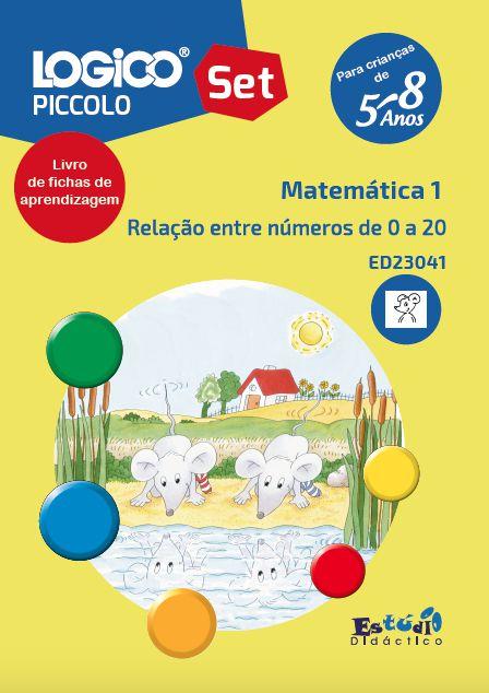 ED23041 Coleção Matemática I para LOGICO PICCOLO